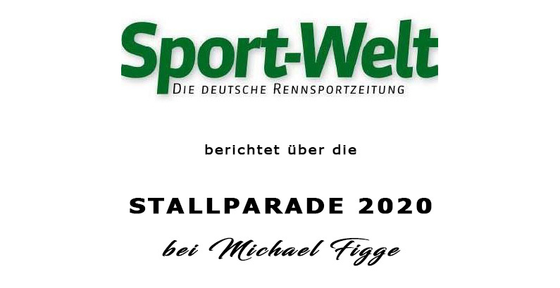 Stallparade bei Michael Figge